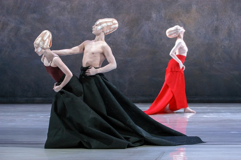 "Shen Wei Dance Arts: ""Folding"" (© Stephanie Berger)"